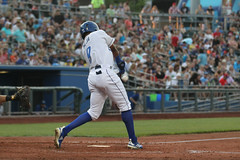 Mejia batting (Minda Haas Kuhlmann) Tags: sports baseball milb minorleaguebaseball pacificcoastleague omahastormchasers omaha nebraska papillion sarpycounty outdoors erickmejia