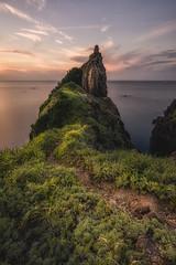 DSC_2076-Edit-Edit-4 (SDX_yyy@blog) Tags: sea sunset sky rock shimane japan japanese 夕焼け 日没 岩