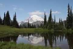 Mount Rainier from Chinook Pass (jlcummins) Tags: mountrainiernationalpark mountrainier nationalparks washingtonstate mountains cascademountains canonefs1585mmf3556isusmlens reflections
