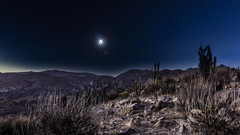 Eclipse (psychoseedsco) Tags: eclipse chile vicuña la serena moon sun nature mountain sony a6000 alpha