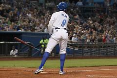 Mejia drew a bases-loaded walk (Minda Haas Kuhlmann) Tags: sports baseball milb minorleaguebaseball pacificcoastleague omahastormchasers omaha nebraska papillion sarpycounty outdoors erickmejia