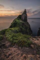 DSC_2080-Edit-Edit-2 (SDX_yyy@blog) Tags: sea sunset sky rock shimane japan japanese 夕焼け 日没 岩