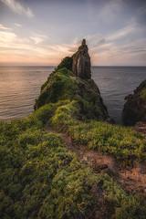 DSC_2064-Edit-3 (SDX_yyy@blog) Tags: sea sunset sky rock shimane japan japanese 夕焼け 日没 岩