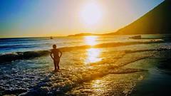 SUN, SEA... me (Ladyhelen_) Tags: sunrise sunset seascape helen landscape sea ocean seaandme holidays soul bodyandsoul yellow yellowdreams colors colorworld words poetry verses poem clouds heaven paradise eden island hedonist twilight coast