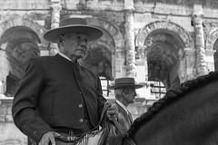 Séniors (Xtian du Gard) Tags: xtiandugard nîmes elrocio nb pentecôte 2019 féria portrait séniors oldman