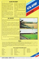 Oldham Athletic vs Norwich City - 1991 - Page 17 (The Sky Strikers) Tags: oldham athletic norwich city barclays league division one boundary park gazette official programme pound twenty