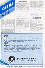 Oldham Athletic vs Norwich City - 1991 - Page 18 (The Sky Strikers) Tags: oldham athletic norwich city barclays league division one boundary park gazette official programme pound twenty