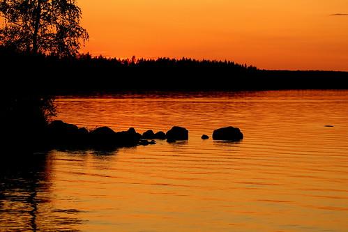 The friday orange sunset...