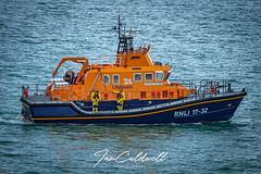 RNLI 17-32 Weymouth, Dorset. 31-July-2019 (Ian Caldwell Photography) Tags: 1200d eos canon rnli sea people lifeboat boat flare rescue