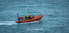 RNLI B-774 Weymouth rescue display @ Bowleaze Cove. 31-July-2019 (Ian Caldwell Photography) Tags: 1200d eos canon rnli sea people lifeboat boat flare rescue