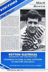 Oldham Athletic vs Norwich City - 1991 - Page 26 (The Sky Strikers) Tags: oldham athletic norwich city barclays league division one boundary park gazette official programme pound twenty