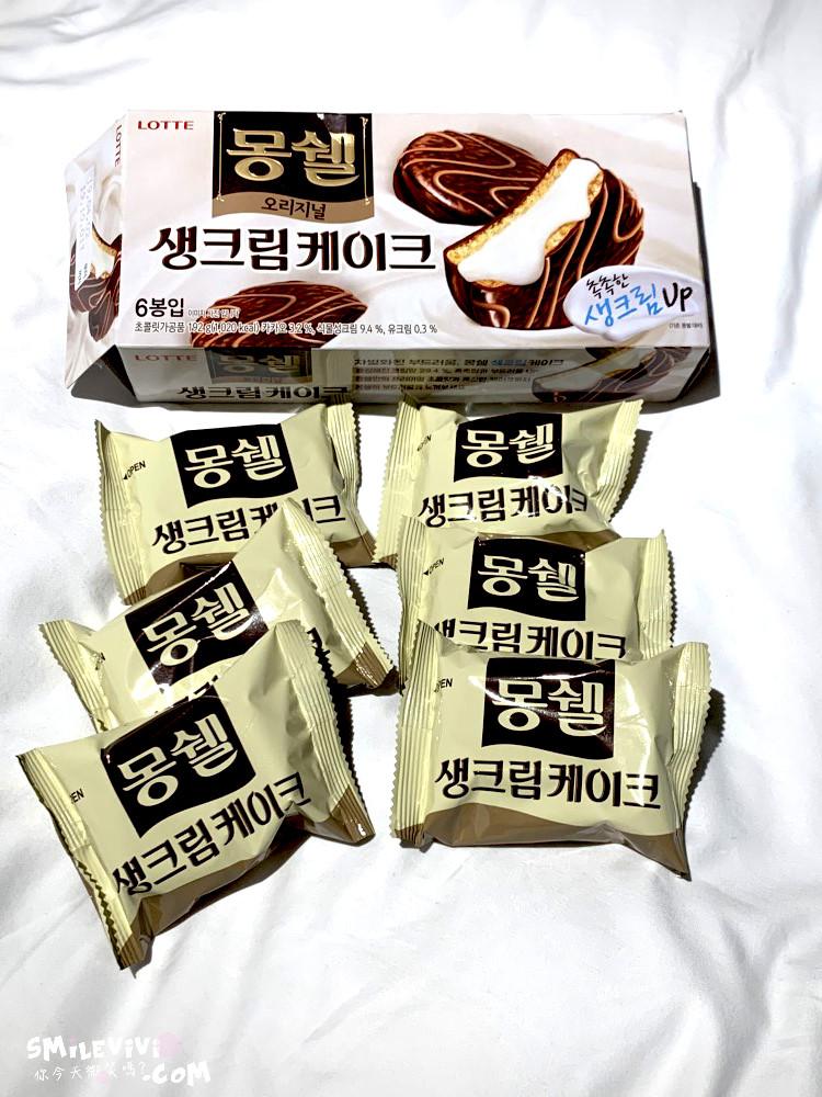 零食∥韓國最好吃巧克力派Mongswel的生奶油巧克力派(몽쉘 생크림 케이크)、迷你一口奶油巧克力派(몽쉘 뿌띠 생크림케이크) 2 48501264756 ca1dfd1c14 o