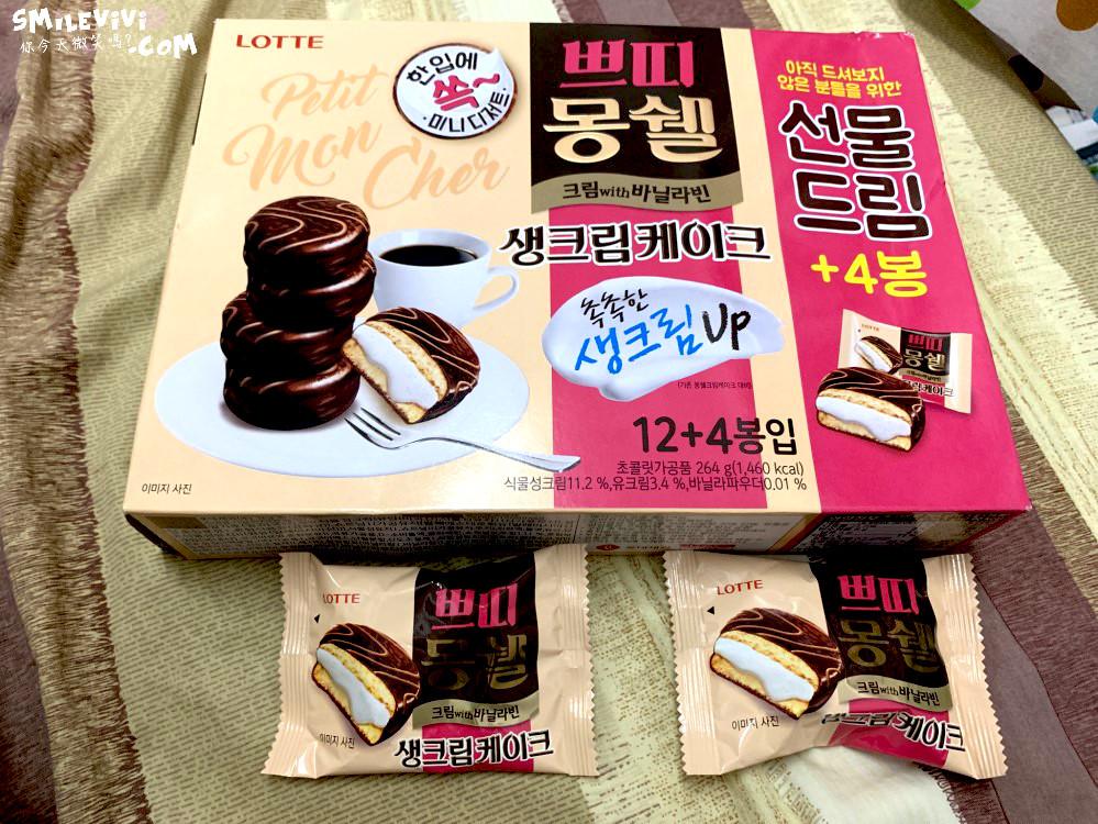 零食∥韓國最好吃巧克力派Mongswel的生奶油巧克力派(몽쉘 생크림 케이크)、迷你一口奶油巧克力派(몽쉘 뿌띠 생크림케이크) 9 48501265151 a401a6a464 o