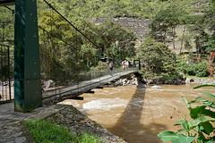 On the start of the Inca Trail (Chemose) Tags: sony ilce7m2 alpha7ii mai may pérou peru inca rio rivière river urumba pond bridge suspendu suspension incatrail chemindelinca caminoinca chachabamba ruine archélologie archeology ruin eau water