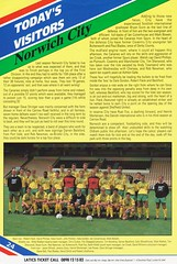 Oldham Athletic vs Norwich City - 1991 - Page 24 (The Sky Strikers) Tags: oldham athletic norwich city barclays league division one boundary park gazette official programme pound twenty