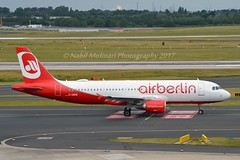 Air Berlin D-ABDW Airbus A320-214 cn/3945 wfu 23-10-2017 std at SXF 04 - 22-12-2017 std at MPL 22-12-2017 transferred 17 Jan 2018 OE-IZS easyJet Europe @ EDDL / DUS 16-06-2017 (Nabil Molinari Photography) Tags: air berlin dabdw airbus a320214 cn3945 wfu 23102017 std sxf 04 22122017 mpl transferred 17 jan 2018 oeizs easyjet europe eddl dus 16062017