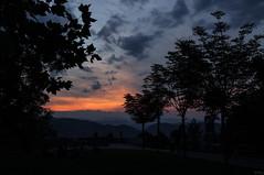 150712_SchloßbergSunset_026 (Rainer Spath) Tags: österreich austria autriche steiermark styria d90 sonnenuntergang sunset dämmerung dawn abend evening himmel sky wolken clouds