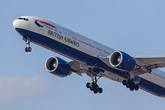 British Airways B77W, G-STBE, TLV-LHR (LLBG Spotter) Tags: b777 gstbe tlv aircraft airline britishairways llbg