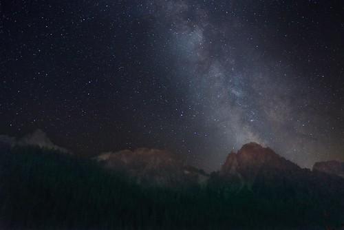 Night Sky Rainier National Park 6204 B