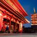 Sensoji temple blue hour