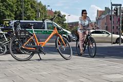 Ride The Bike! (NebulousRoyale) Tags: bike rental munich police van background