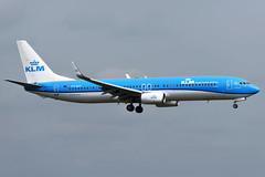PH-BXP KLM Royal Dutch Airlines Boeing 737-9K2(WL) at London Heathrow Airport on 3 August 2019 (Zone 49 Photography) Tags: aircraft airliner aeroplane august 2019 london england egll lhr heathrow airport kl klm royal dutch airlines boeing 737 739 900 9k2 phbxp