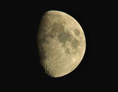 Moon080919 (kendoman26) Tags: moon luna crater waxinggibbous nikon nikond7100 nikkor80400