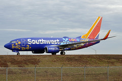 N7816B  B737-7L9(W)  Southwest Airlines (n707pm) Tags: n7816b boeing 737 737700 b737 737wl airport airplane airline aircraft kmco mco orlandomccoyairport southwestairlines specialcococolours 03022018 cn28009