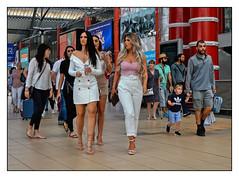Fashion Parade (whosoever2) Tags: uk united kingdom gb great britain england nikon d7100 lime street liverpool merseyside girl fashion