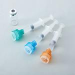 溶解移注針付きプレフィルドシリンジの写真