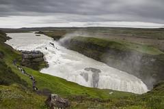 Gullfoss (ponzoñosa) Tags: golden circle gullfoss river waterfall iceland islandia rain canyon saga