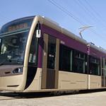 超低床路面電車の写真