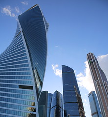 Moscow City, Russia (AndreyFilippov.com) Tags: moscowcity russia corporate europe day panorama light facade perspective abstract outdoor river finance bridge summer travel commercial background capital russian financial district buildings beautiful city business architecture modern skyscraper moscow urban center tower cityscape office blue glass view building downtown sky high construction design reflection international tall landmark new skyline exterior landscape futuristic