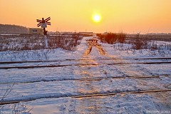 Sunset railway / Snow (CFR2100CP) Tags: sunset railway snow winter pod suns energy life sun sky soarele soare is zapada nea raze raza de nature apus tree surnise stea romania ger ninsoare poteca elita epic terra calea lactee milk aurora borealis polar light beautiful colors steaua alpha centauri norul lui orth apusul perfect andu mihailescu alexandru city omat la capatul pamantului polul pol north austal portocaliu amurg ora albastra hour portocala mare rosiatiaca orizont cold blizzard viscol vifor cod tartasesti