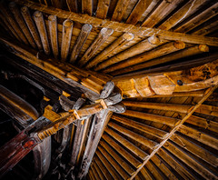 Support.jpg (Klaus Ressmann) Tags: omd em1 china klausressmann ruiancounty winter xuao ancient architecture design flicvarious roofbeams omdem1