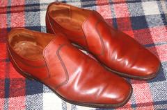 Vantage Gentlemen's Leather Shoes Size Nine. (Yesteryear-Automotive) Tags: vantagegentlemensshoes leathershoes madeinengland britishmade smileonsaturday shoeshow mensshoes shoes