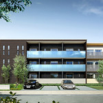 コンバージョンが可能な木造3階建共同住宅の写真