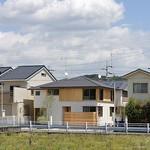 長屋+戸建住宅の写真