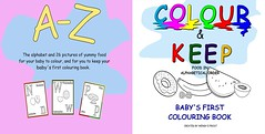 COLOUR AND KEEP Colouring book (0WW0) Tags: wendyefrost colourkeep colouring art food apple alphabet wendy frost mums babies activity gift book banana kiwi doughnut fruit drawing toddlers keepsake paper flashcards earlylearning preschool birthday christmas