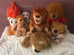 World Lion Day (plushloverau) Tags: lover au plushloverau collection plush plushie stuffed animals toy toys motorsports v8 australia abs rectus abdominis muscle holden racing team lion mascot supercars england football soccer uk fb united kingdom great britain olympic olympics singapore 2010 lyo nici classic dangling youth