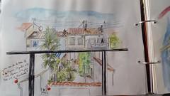 Vue de ma terrasse (Anouchka Sorcière de l'Océan) Tags: tablette