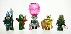 Misc Figbarf (LegoHobbitFan) Tags: lego moc creation build model figbarf custom purist minifig minifigures space wizard archer castle medieval supervillian super villian indian native bounty hunter