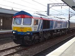 66747 (Rail Photo's Online) Tags: loco freight train madeinsheffield nwt wakefield gbrf class66 66747