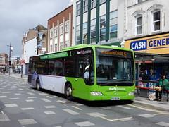 First Berkshire 64048 - LK08 FMJ (Berkshire Bus Pics) Tags: first berkshire 64048 lk08fmj mercedes benz citaro slough high street
