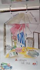 Chez moi en terrasse (Anouchka Sorcière de l'Océan) Tags: tablette