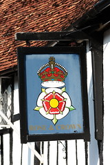 The Rose and Crown Hotel pub sign Salisbury Wiltshire UK (davidseall) Tags: the rose crown hotel pub pubs inn tavern bar public house houses salisbury wiltshire uk gb british english hanging