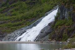 Glacier Mendenhall, Juneau, Alaska, USA - 1741 (rivai56) Tags: chutes waterfall glaciermendenhall juneau alaska merveille