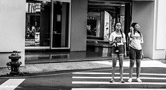 anxious to cross the street (steve: they can't all be zingers!!! (primus)) Tags: a7rii carlzeissdistagon2835mm monochrome bw blackwhite taiwan taichungtaiwan taichung primelens prime primecarlzeiss