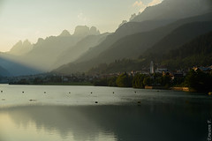 Auronzo (erwannf) Tags: eau lac nature piècedeau rivière auronzodicadore vénétie italie dolomites