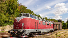 BR V 200 Diesellok (nbrausse) Tags: 201908 bochum deutschland diesellokomotive eisenbagnfreunfe eisenbahnmuseumbochum